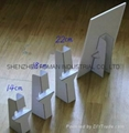 CARD BOARD HOLDER FOR DESK ADVERTISEMENT