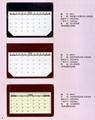 manager desk calendar/desk blotter/desk pad 5