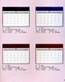 manager desk calendar/blotter