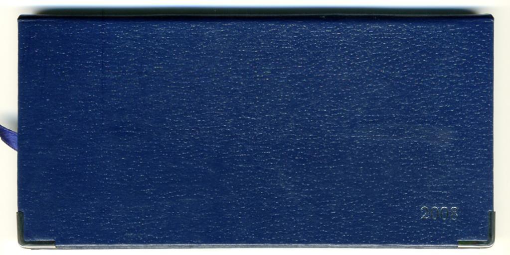 口袋装周历笔记本 AD7089 1