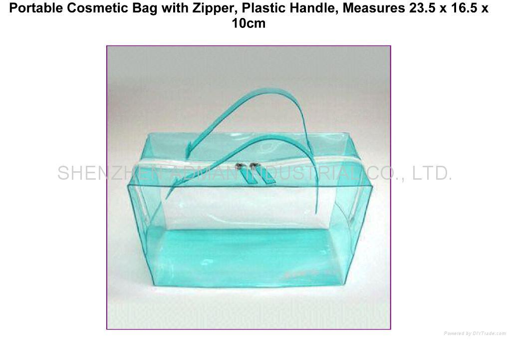 cosmetic soft pvc bag 2