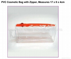 cosmetic soft pvc bag