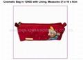 cosmetic soft pvc bag