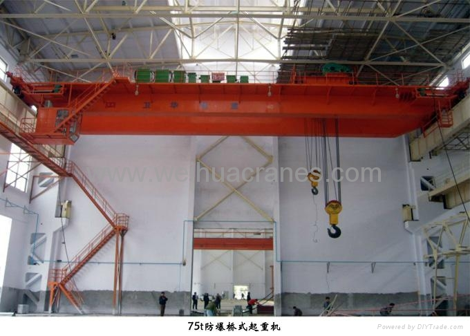 Overhead travelling explosion-proof cranes 1