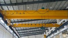 Overhead crane with electric hoist