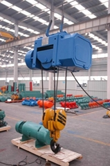 Electric hoist side box