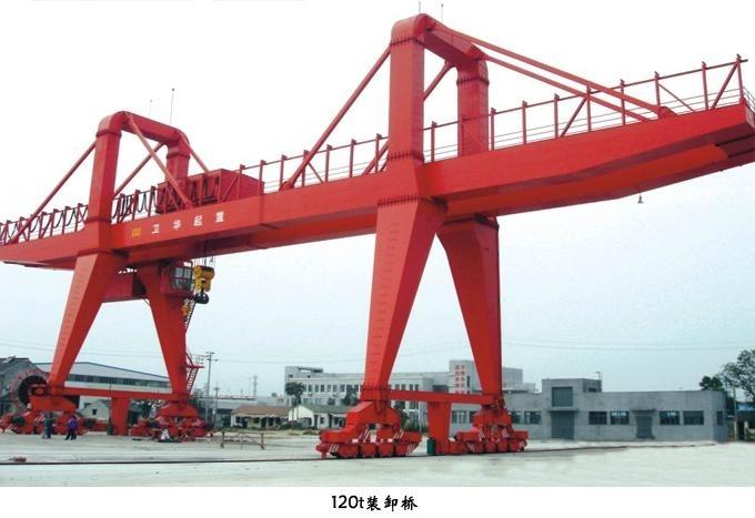 双主梁装卸龙门吊-卫华集团-河南卫华重型机械股份有限公司