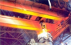 QDY5~74噸吊鉤橋式鑄造起重機