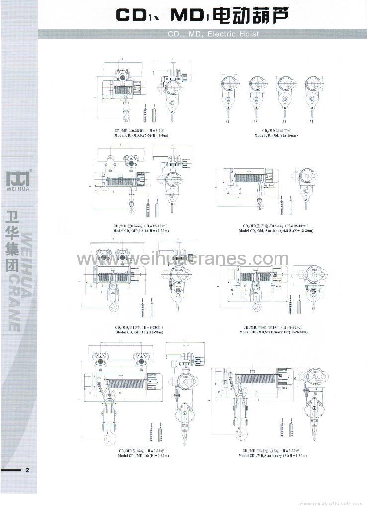 CD1电动葫芦 3