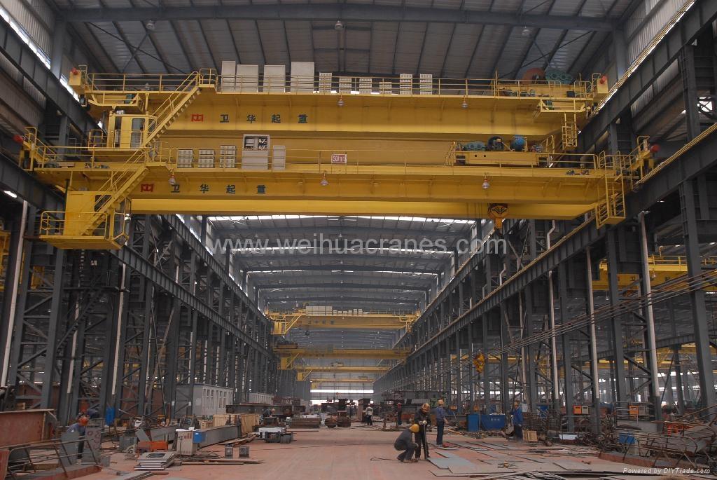 Double beam crane 1