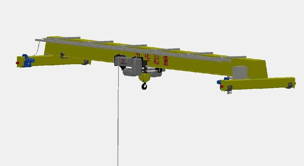 欧式电动单梁起重机 1