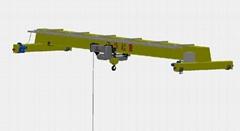 欧式电动单梁起重机
