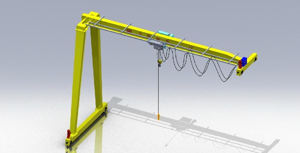 Semi-portal cranes 1