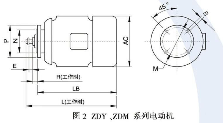 ZDM锥形转子制动电动机  1
