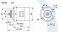ZD41-4 7.5KW 锥形转子制动电动机主机