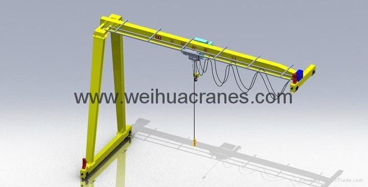 半门式起重机-卫华集团-河南卫华重型机械股份有限公司
