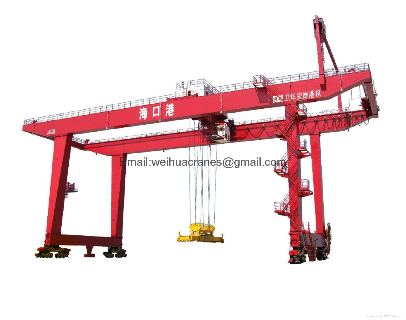 Rail-Mounted-Gantry-cranes