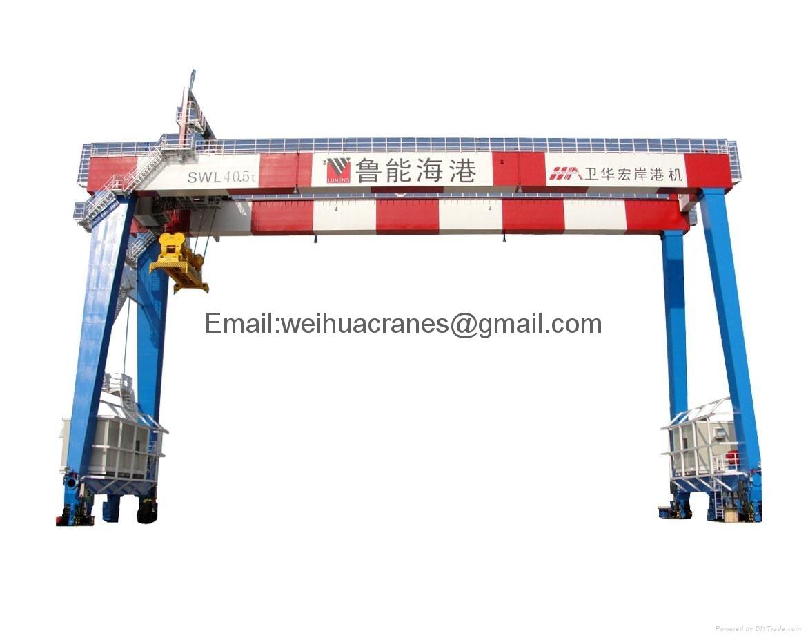 轨道式集装箱门式起重机-卫华集团-河南卫华重型机械股份有限公司