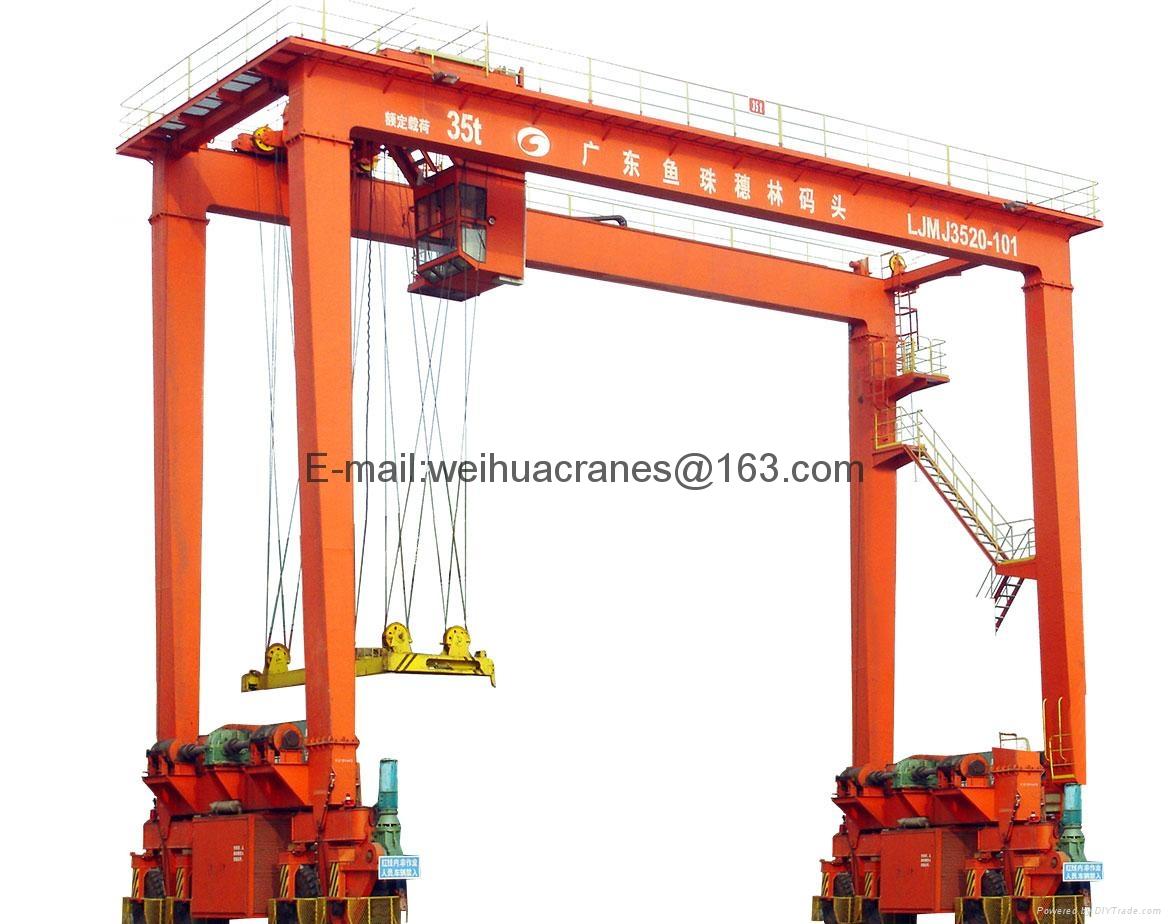 Rubber Tired Gantry Cranes 1