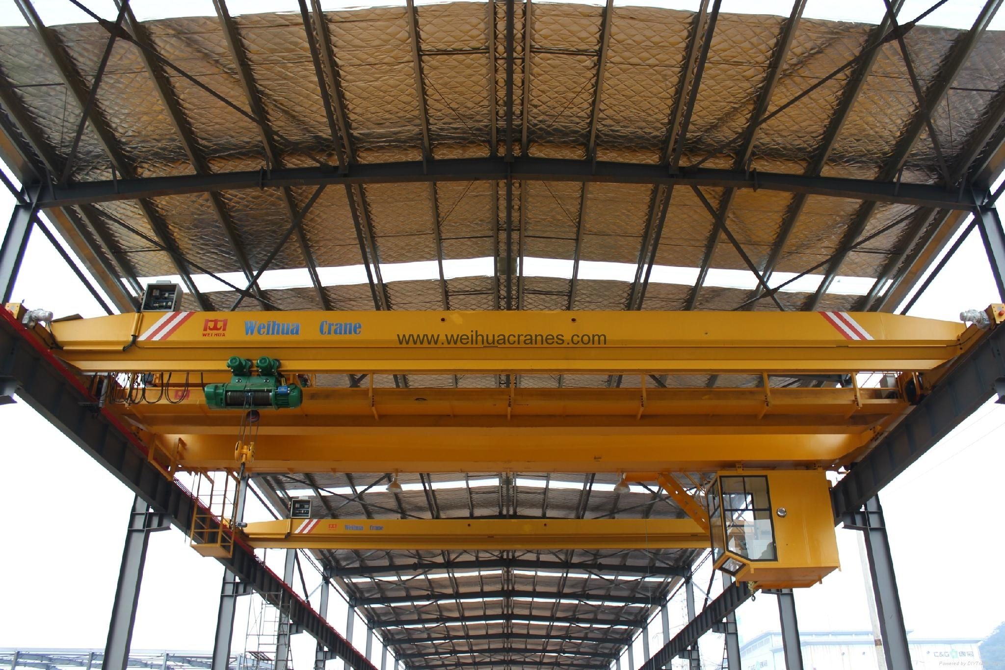 新型单梁起重机-卫华集团-河南卫华重型机械股份有限公司