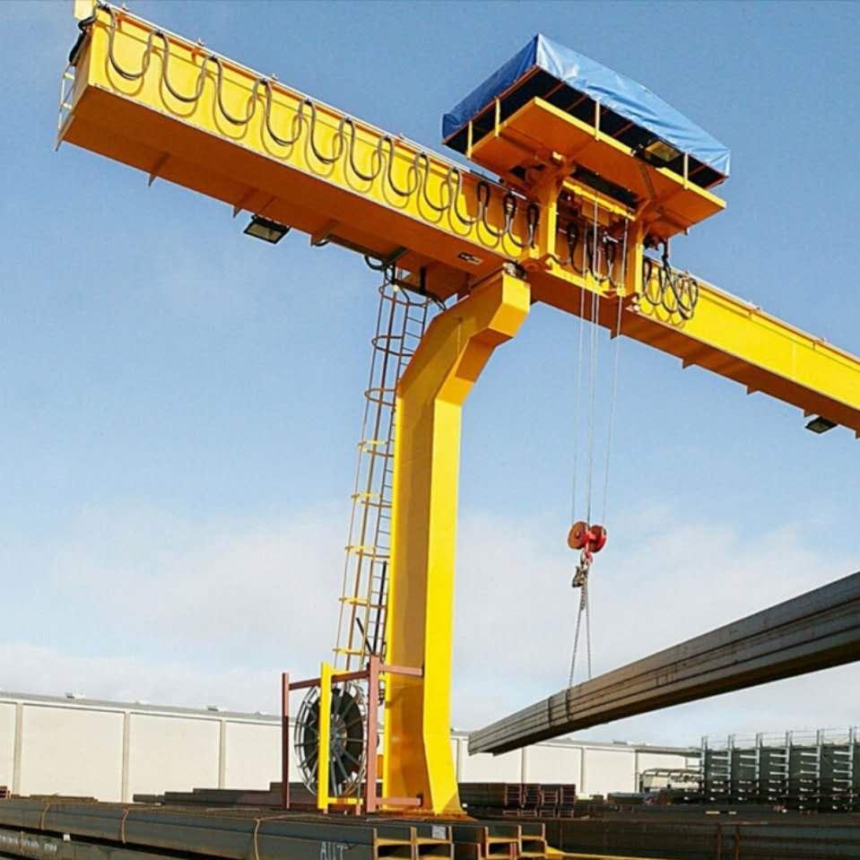 L-type wire rope hoist gantry crane 1