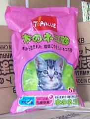環保珠狀木質貓砂
