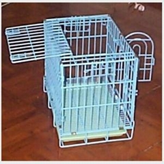 PE Coating Dog Cage