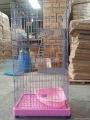 三層電鍍貓籠