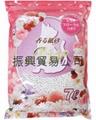 粉红花香味纸砂
