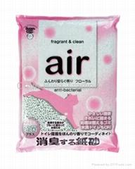 香味除臭抗菌纸砂(花香)