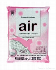Air fragrant & clean paper sand (Flower)