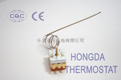 water thermal blanket thermostat  in oven