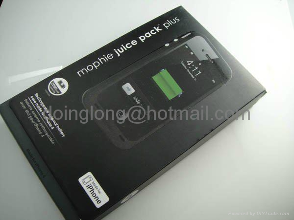 Mophie Juice Pack Air Mobile Phone Battery Pack Case Use For Apple iPhone 4 4G 2