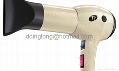 T3 Tourmaline gold Professional Featherweight Ceramic Ionic Hair Dryer