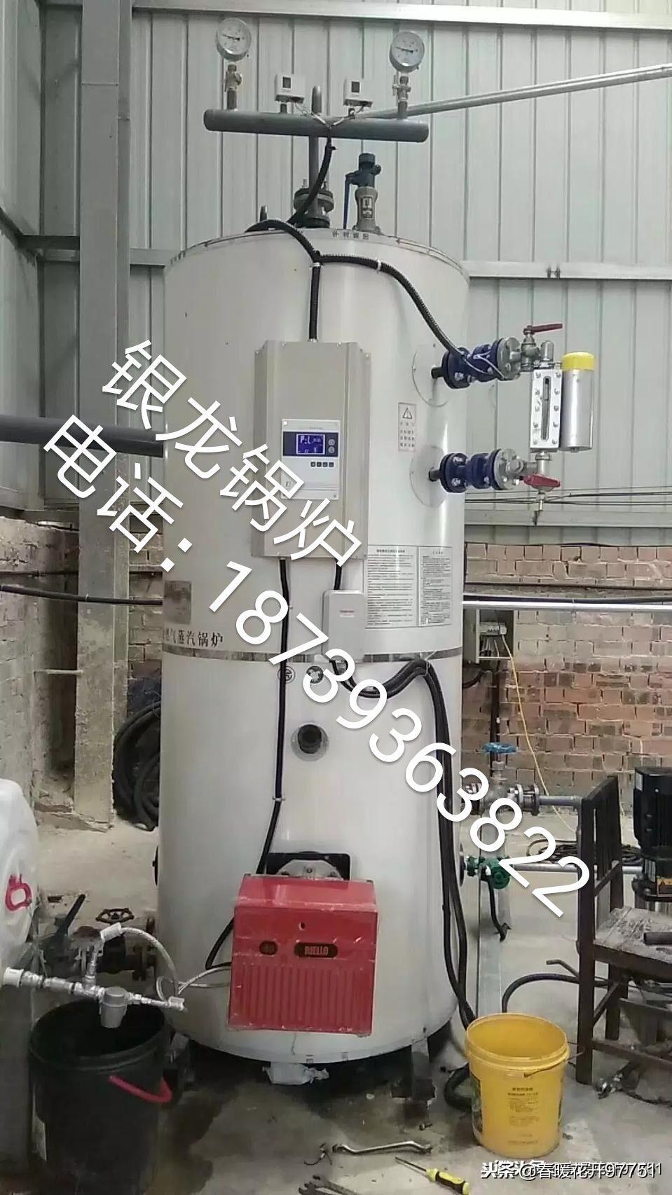 全自动燃油燃气蒸汽锅炉 1
