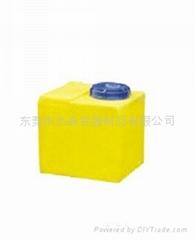 水处理行业用80L方形PE加药箱