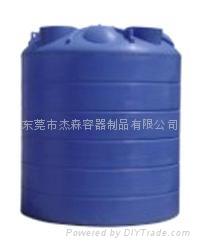 供应广东省各地500升PE平底水箱 4