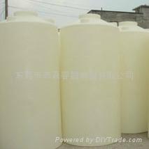3100L环保耐酸碱腐蚀PE平底塑胶水箱 1