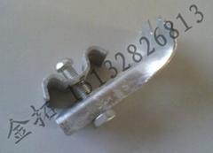 鋼格板安裝夾鍍鋅處理