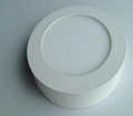 Surface mounted led Round panel light 6W