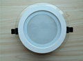 led round Panel light AL+Glass Cover 6W