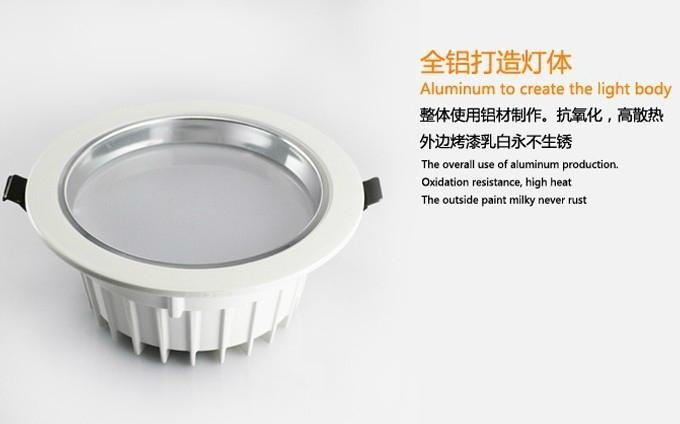 LED Down light AL+PMMA, 3W/7W/9W/12W/15W/18W 1