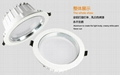 LED Down light AL+PMMA, 3W/7W/9W/12W/15W/18W 3