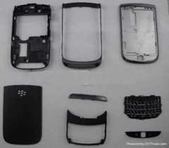original Blackberry 9800 housings with keypad & Cover & plate have white & black
