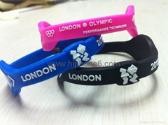 Olympic Games Power Balance bracelets silicon bands C/W Retail box