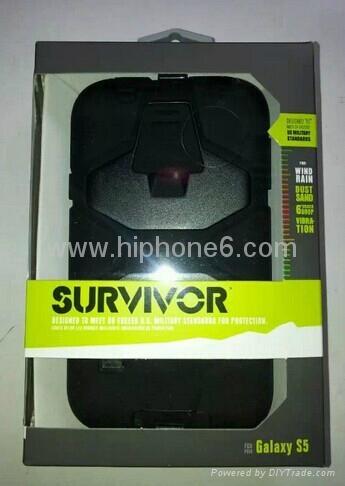 批发Griffin Survivor苹果、三星、HTC 摩托罗拉手机壳 2
