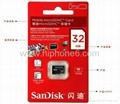 China manufacturer SanDisk 2GB 4GB 8GB