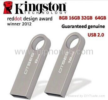 Kingston 16GB 16G DataTraveler DT SE9 USB Flash Pen Drive Memory Stick Key Thumb 1