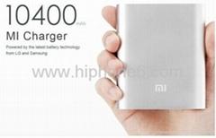 工厂批发小米移动电源 铝合金10400mAh毫安 小米手机通用充电宝