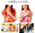 2014欧美爆款DIY Rainbow loom kit 彩色编织工具批发直销 3